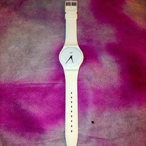 Swatch Watch White Jeremy Scott *WORKS*